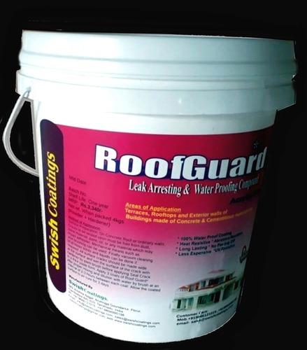Roof Guard Leak Arresting And Waterproof Coating Application: Brush