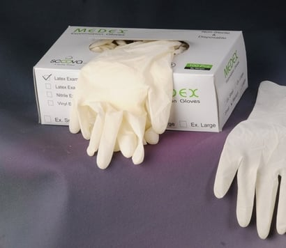 Sterile Disposable Latex Surgical Glove Certifications: Iso Ce