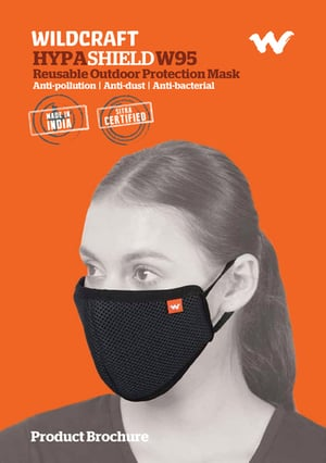 Wildcraft Hypa Shield 6 Layer W95 Reusable Outdoor Protection Face Mask