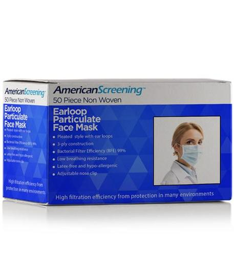 Earloop Particulate Face Mask