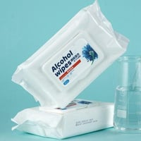 Disposable 75% Alcohol Sterilized Adult Wet Wipes