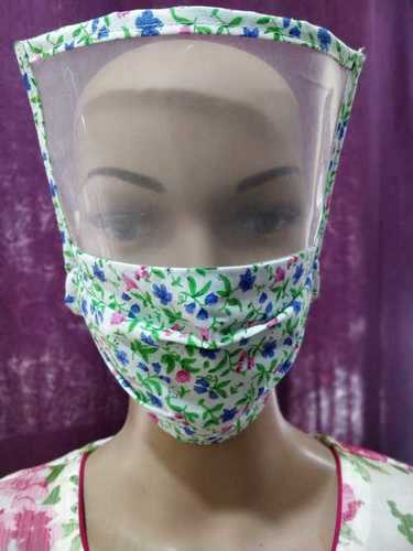 Full Protection Double Fabric Cotton Face Mask Application: To safe the corona warriors from infection