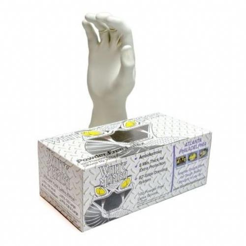 White Mamba Latex Gloves