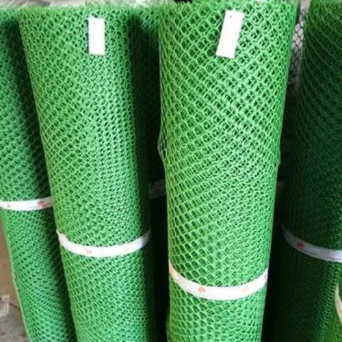 Green Pvc Tree Guard Net