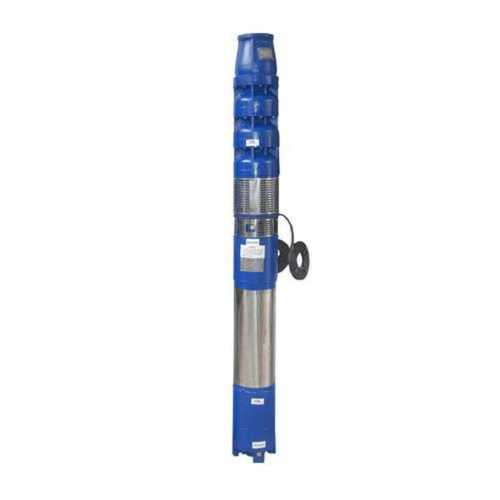 Blue And Silver Heavy Duty Submersible Pump