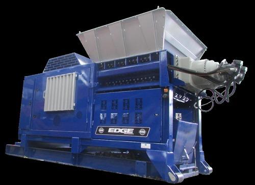 Blue Edge Shredder Machine
