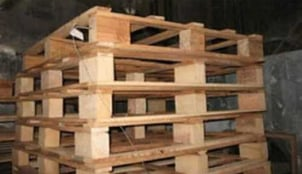 4 Way Rubber Wood Pallets