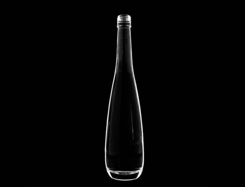 Transparent Empty Glass Bottle 375 Ml