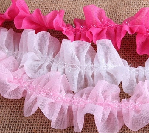 Ruffled Lace