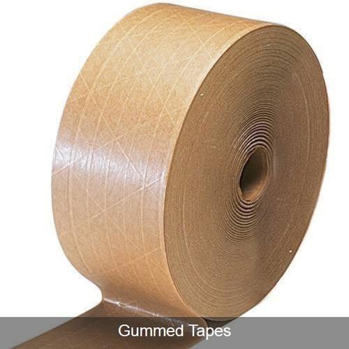 Single Sided Gummed Tapes