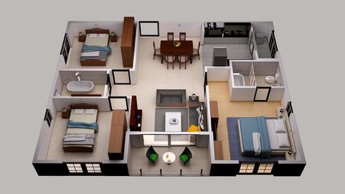 3D Floor Plan Design Services