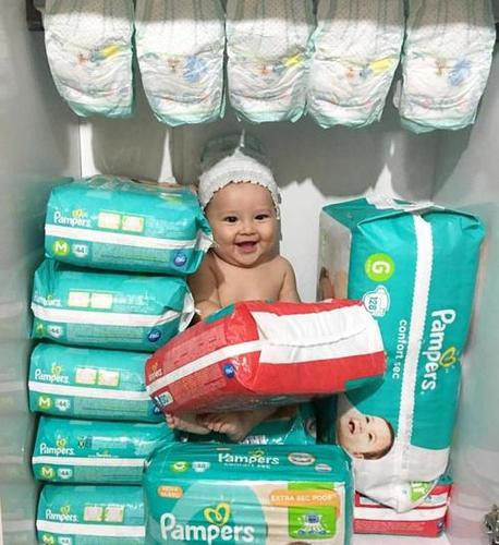 Disposable Dry Pampers For Babies