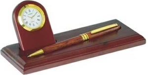 Promotional Pen Holder with Watch
