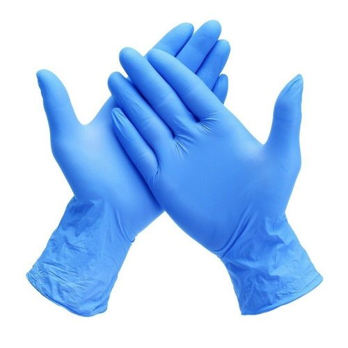 Disposable Blue Surgical Nitrile Glove