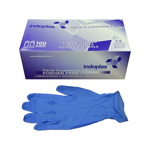 Powder Free Disposable Nitrile Gloves