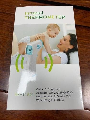 Digital Contactless Infrared Thermometer Certifications: Ce Fda