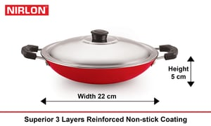 Nirlon Appa Chati With Stainless Steel