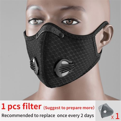 Sport KN95 Filter Silicone Daily Use Mask