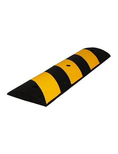 Yellow And Black Color Plastic Speed Breaker