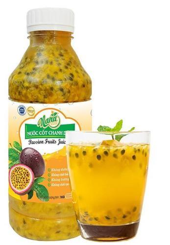 100% Pure Passion Fruit Juice Certifications: Haccp