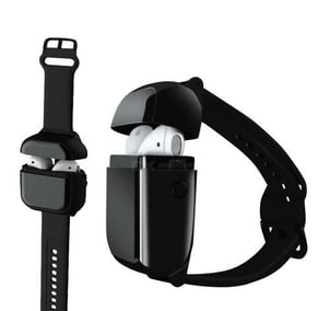 Wireless Earbuds With Wearable Wrist Charging Case