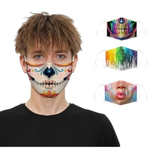 3D Face Mask with Earloop