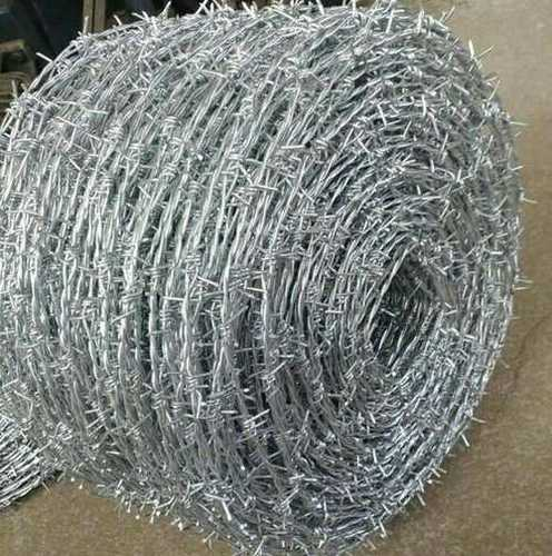 Anti Corrosive Metal Barbed Wire Application: Fencing