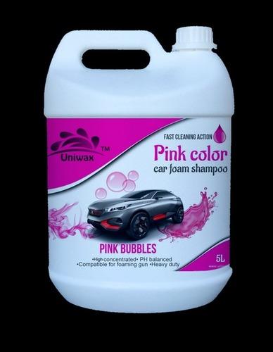 Pink Colour Car Foam Shampoo