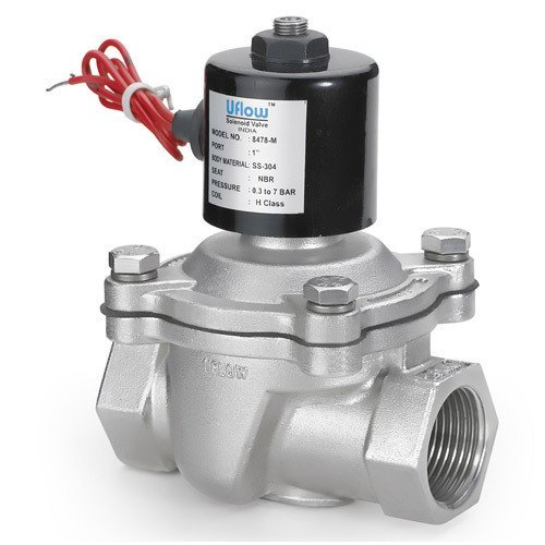 Aluminium Air Diaphragm Type Solenoid Valve For Industrial