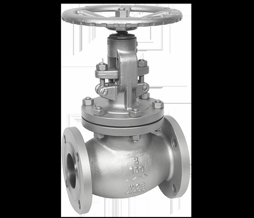 Silver Stainless Steel Globe Valve For Industrial