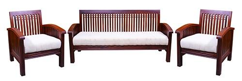 Designer Teak Wood Sofaset At Price 42000 Inr Set In Pollachi Sulochana Life Style Furnitures