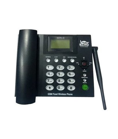 Fixed Gprs Phone Use In Residential Or Bussiness Applications  Body Material: Plastic