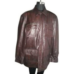 Full Sleeves Mens Leather Jackets