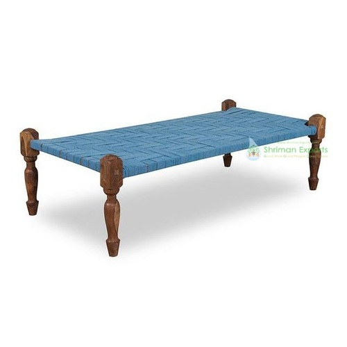 Indian Wooden Daybed Charpai For Outdoor