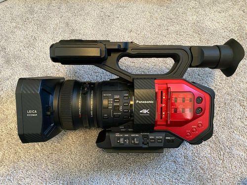 Black Panasonic Ag-Dvx200 4K Professional Camcorder
