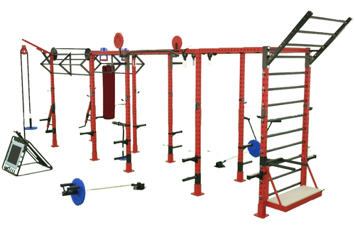 Crossfit Monkey Bridge Rig