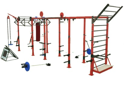 Crossfit Monkey Bridge Rig Grade: Commercial Use