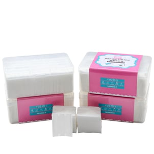 Makeup Cotton Pads Set With Clear Box