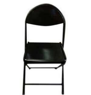 Powder Coated Perforated Folding Chair