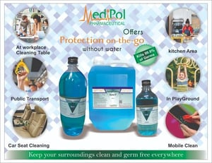Isopropyl Rubbing Alcohol IP Surface Disinfectant