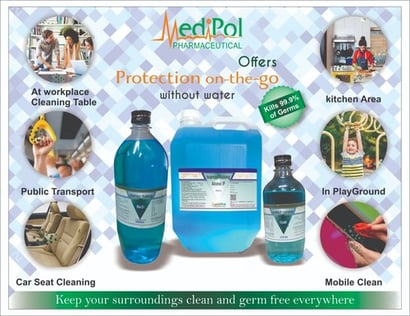 Isopropyl Rubbing Alcohol Ip Surface Disinfectant Application: For Hand Sanitizing