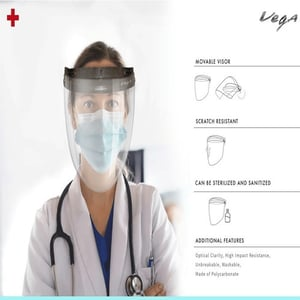 Personal Protection Face Shield