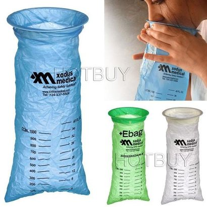 Disposable Vomit Bag For Airplane Travel And Hospitals Application: Industrial