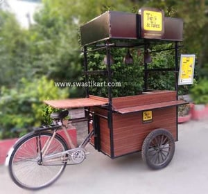Easy to Move Tricycle Cart