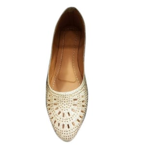 Ladies Beaded Belly Shoes