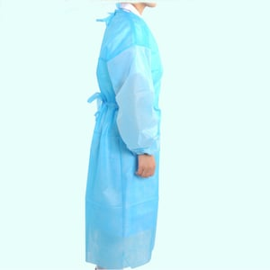 Disposable Isolation Medical PE Apron
