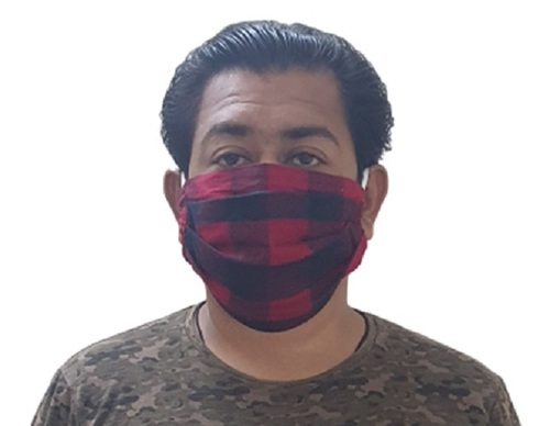 Reusable Cotton Face Mask Size: Free Size