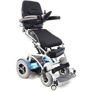 Power Wheelchair With Seat And Back Gel Cushions