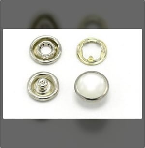 Snap Pearl Garment Buttons