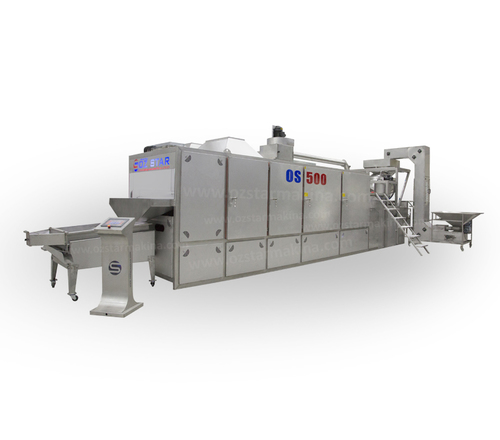 Automatic Nuts Roasting Machine